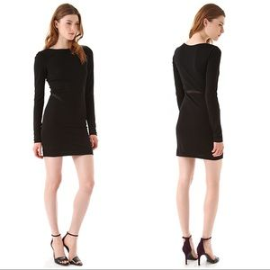 T By Alexander Wang Long Sleeve Bodycon Dress M